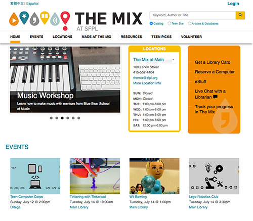 The MIX at SFPL